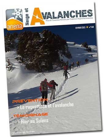 revue neige et avalanches n° 140 - ANENA