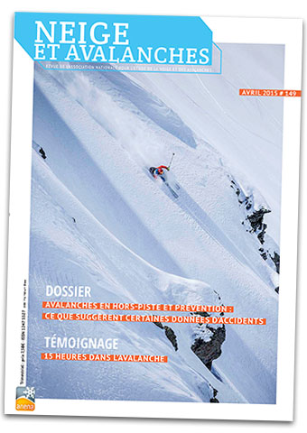 neige et avalanche n°149 ANENA