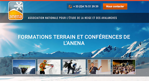 Anena portail web des formations