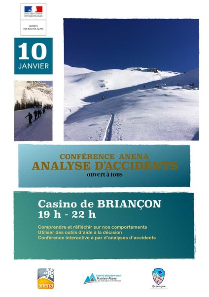 Anena conference analyse d'accident Briançon janv2019