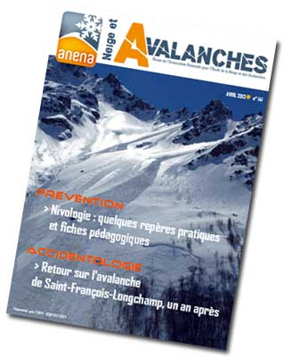 revue neige et avalanches n° 141
